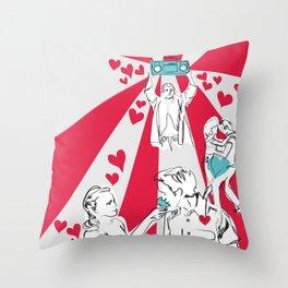 Movie Love Throw Pillow