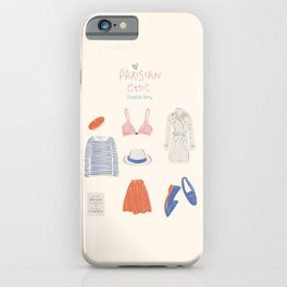 Parisian Chic: Starter Pack iPhone Case