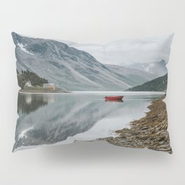 Norway I - Landscape and Nature Photography Pillow Sham