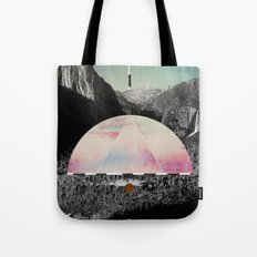 Candy Floss Skies Tote Bag