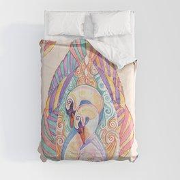 Swan Totem Comforters