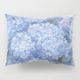 Hydrangeas in Blue Pillow Sham