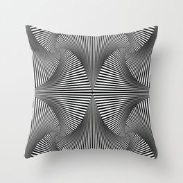 When No One Else is Around Throw Pillow