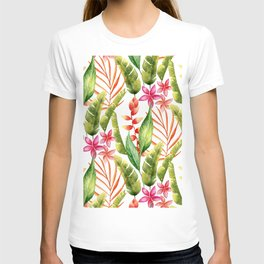 Tropical Leaves 7 T-shirt
