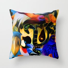 The Rain and the Wind Throw Pillow