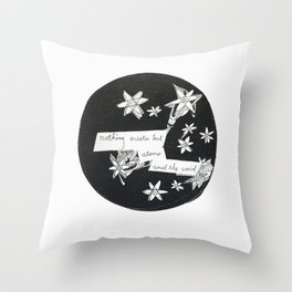 Stars and the Void Throw Pillow