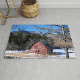 Deserted Barn in the Adirondacks Rug