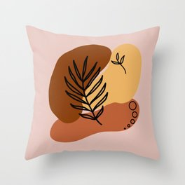 Modern Minimalist Abstract #3 Throw Pillow