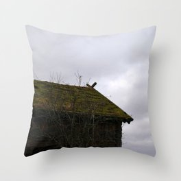 Swedish Dwelling Throw Pillow