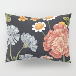 Wild Flowers ~ vol4. ~ dark Pillow Sham