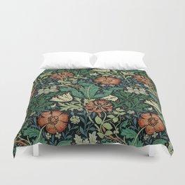 William Morris Compton Floral Art Nouveau Pattern Bettbezug