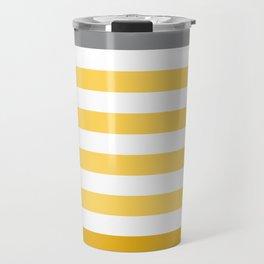 Stripes Gradient - Yellow Travel Mug