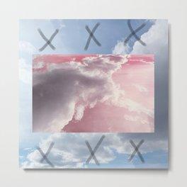 pink and blue sky Metal Print