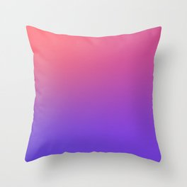 HALLOWEEN CANDY - Minimal Plain Soft Mood Color Blend Prints Throw Pillow