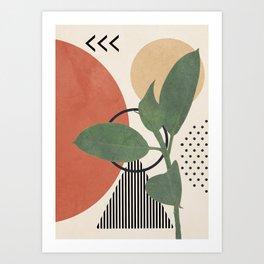 Nature Geometry III Art Print