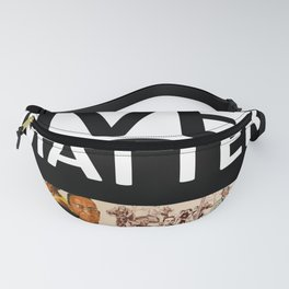 Black Lives Matter - African American Leaders and Heroes Fanny Pack