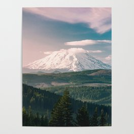 Saints and Sinners - 126/365 Nature Photography Mount St. Helens Poster