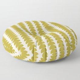 Maude Pattern - Moss Green Floor Pillow