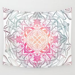 Gurugú Mandala Morning Palette Wall Tapestry