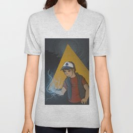 Well this Leads nowhere Good Unisex V-Neck