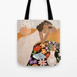 Flower Picnic Tote Bag