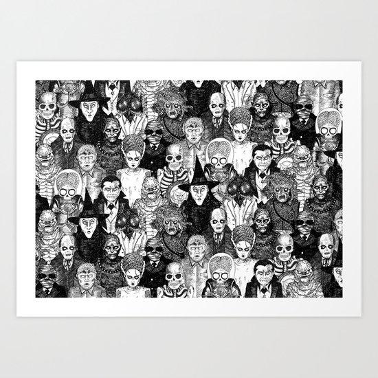 Horror Film Monsters by djrb