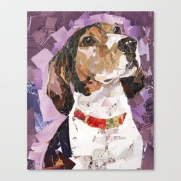 Delilah The Treeing Walker Coonhound Canvas Print