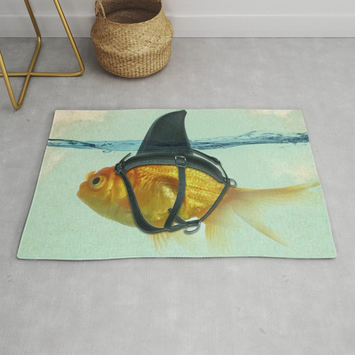Brilliant DISGUISE - Goldfish with a Shark Fin Rug