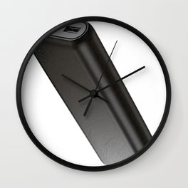 Battery Powerbank Recharger Energy Cell Ion Lithium Carbon Wall Clock