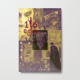 One Sixth Ism Vol.4-1 Metal Print