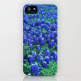 Field of Blue iPhone Case