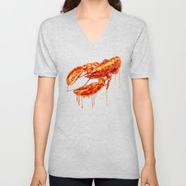 Crawfish Unisex V-Neck