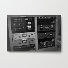 Outboard Gear Metal Print