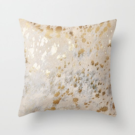 Gold Hide Print Metallic by koovox