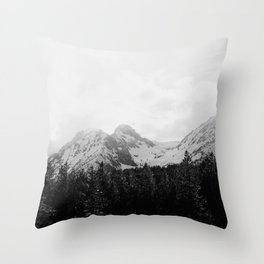Sawtooths Throw Pillow