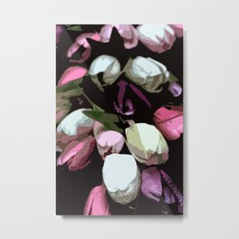 Abstract Tulips Metal Print