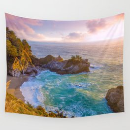 Magical Cove, Big Sur II Wall Tapestry