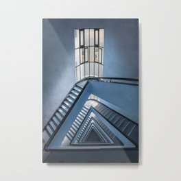 Rectangles and triangles Metal Print