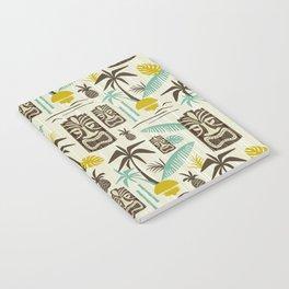 Island Tiki - Tan Notebook