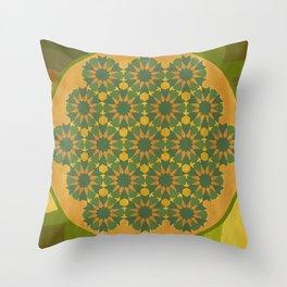 Satya Sena Throw Pillow