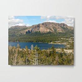 Silver Lake, Eldorado National Forest, California Metal Print