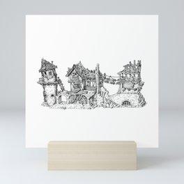 Fantasy Ruin Mini Art Print