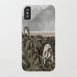 There's A Ghost in the Cornfield Again iPhone Case