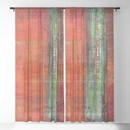 Copper Sheer Curtain