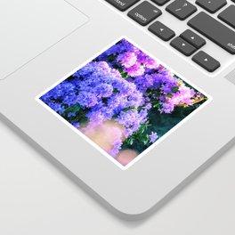 Purple Sun Spots Sticker