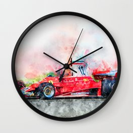 Niki Lauda No.12 Wall Clock