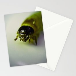 Alien Worm Stationery Cards