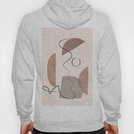 Minimal Abstract Shapes No.62 Hoody