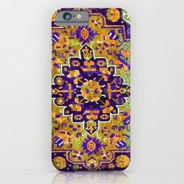 Alpan Kuba  Antique Caucasian Rug Print iPhone Case