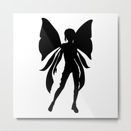 Faery Shadow Metal Print